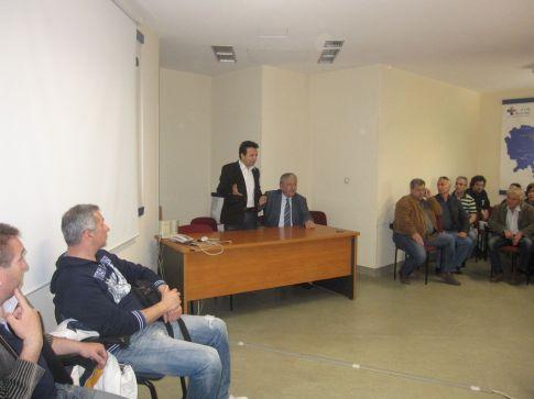 Συνάντηση εργαζομένων με τη διοίκηση της 5ης Υγειονομικής Περιφέρειας