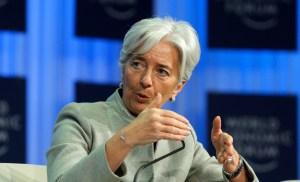 Σύμφωνα με γενική διευθύντρια του Διεθνούς Νομισματικού Ταμείου Κριστίν Λαγκάρντ