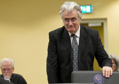 Netherlands War Crimes Karadzic