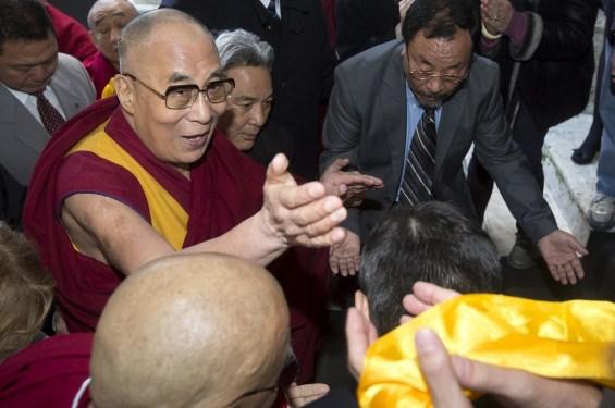 Dalai Lama Arriving in Rome