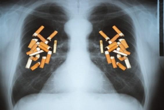 πνεύμονες τσιγάρα