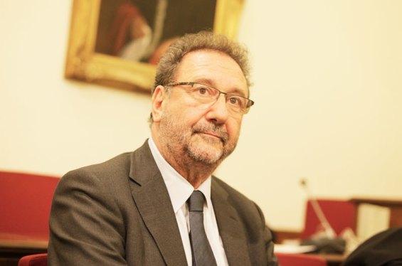 Ο πρόεδρος του ΤΑΙΠΕΔ, Στέργιος Πιτσιόρλας
