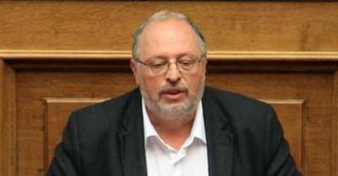 Ο αναπληρωτής υπουργός Εθνικής Άμυνας Κώστας Ήσυχος μιλάει κατά τη διάρκεια της συζήτησης, στην Ολομέλεια της Βουλής, των προγραμματικών δηλώσεων της Κυβέρνησης, Αθήνα, Δευτέρα 9 Φεβρουαρίου 2015. ΑΠΕ-ΜΠΕ/ΑΠΕ-ΜΠΕ/ΣΥΜΕΛΑ ΠΑΝΤΖΑΡΤΖΗ