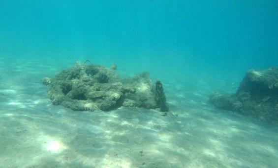 Φωτογραφία που δόθηκε σήμερα στη δημοσιότητα και εικονίζει κατάλοιπα ναυαγίου στον όρμο της Μεθώνης. Ενάλιες γεωαρχαιολογικές και γεωφυσικές έρευνες στον όρμο της Μεθώνης και στο βόρειο τμήμα της νήσου Σαπιέντζας πραγματοποίησε η Εφορεία Εναλίων Αρχαιοτήτων (ΕΕΑ) σε συνεργασία με το Εργαστήριο Θαλάσσιας Γεωλογίας και Φυσικής Ωκεανογραφίας (ΕΘΑΓΕΦΩ) του Τμήματος Γεωλογίας του Πανεπιστημίου Πατρών. Τρίτη 29 Σεπτεμβρίου 2015.   ΑΠΕ-ΜΠΕ/ΥΠΟΥΡΓΕΙΟ ΠΟΛΙΤΙΣΜΟΥ/STR