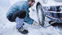 Με αλυσίδες η κίνηση των οχημάτων για Ζαγορά μέσω Χανίων – Χιονοπτώσεις και στον Αλμυρό