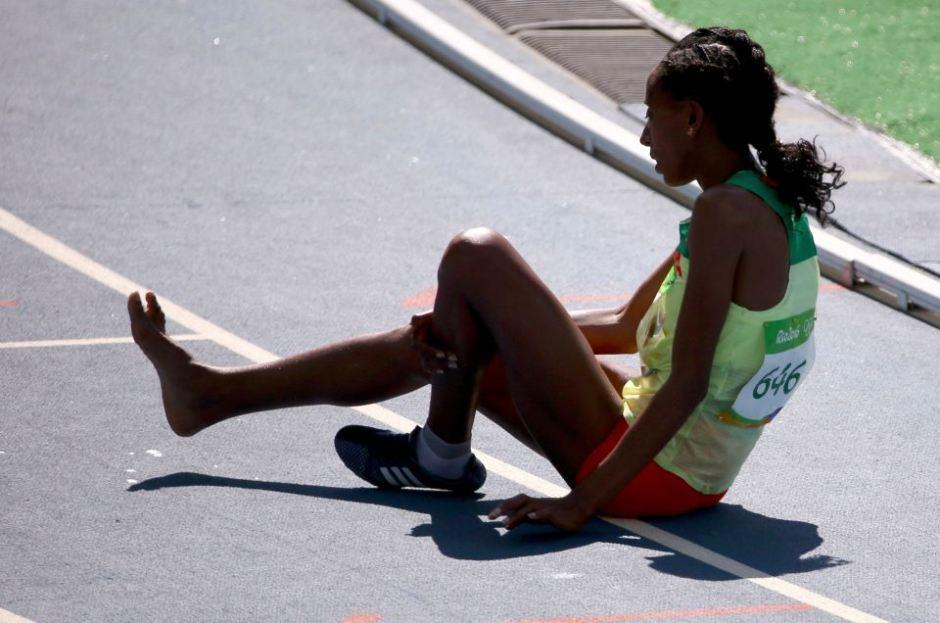 Athletics - Women's 3000m Steeplechase Round 1