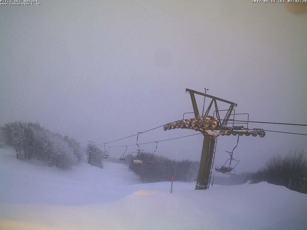 Κλειστό σήμερα το Χιονοδρομικό Κέντρο Πηλίου