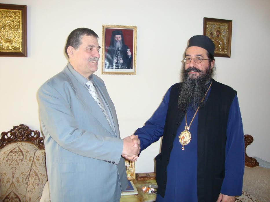 Στο Πήλιο ο Αρχιεπίσκοπος του Κατάρ Μακάριος