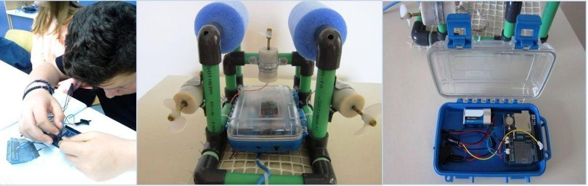 Μαθητικό ρομπότ ερευνά τον Παγασητικό
