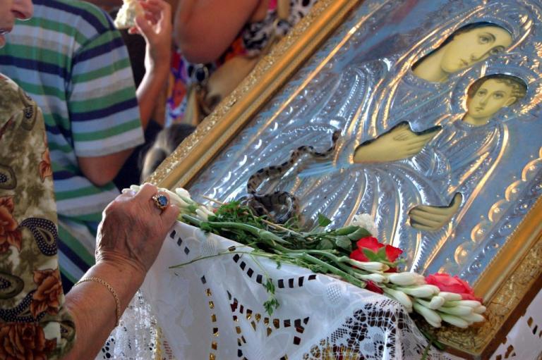 Με λαμπρότητα γιορτάζεται η Κοίμηση της Θεοτόκου στη Μαγνησία