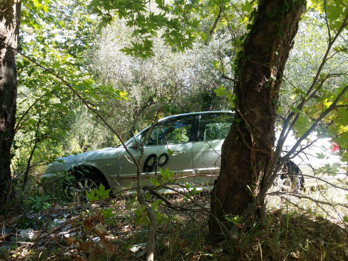 Εγκαταλειμμένα οχήματα