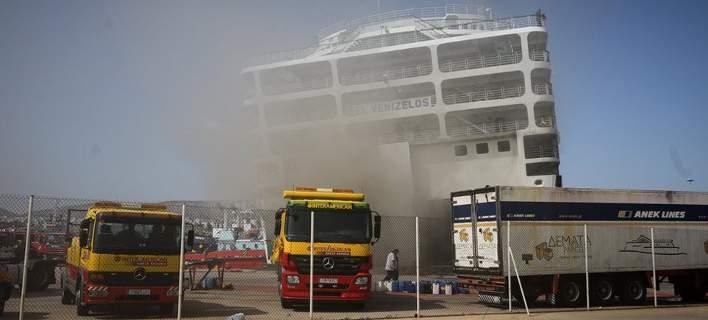 0ed85257d4 Δραματικές στιγμές έζησαν οι επιβάτες στο πλοίο «Ελευθέριος Βενιζέλος»