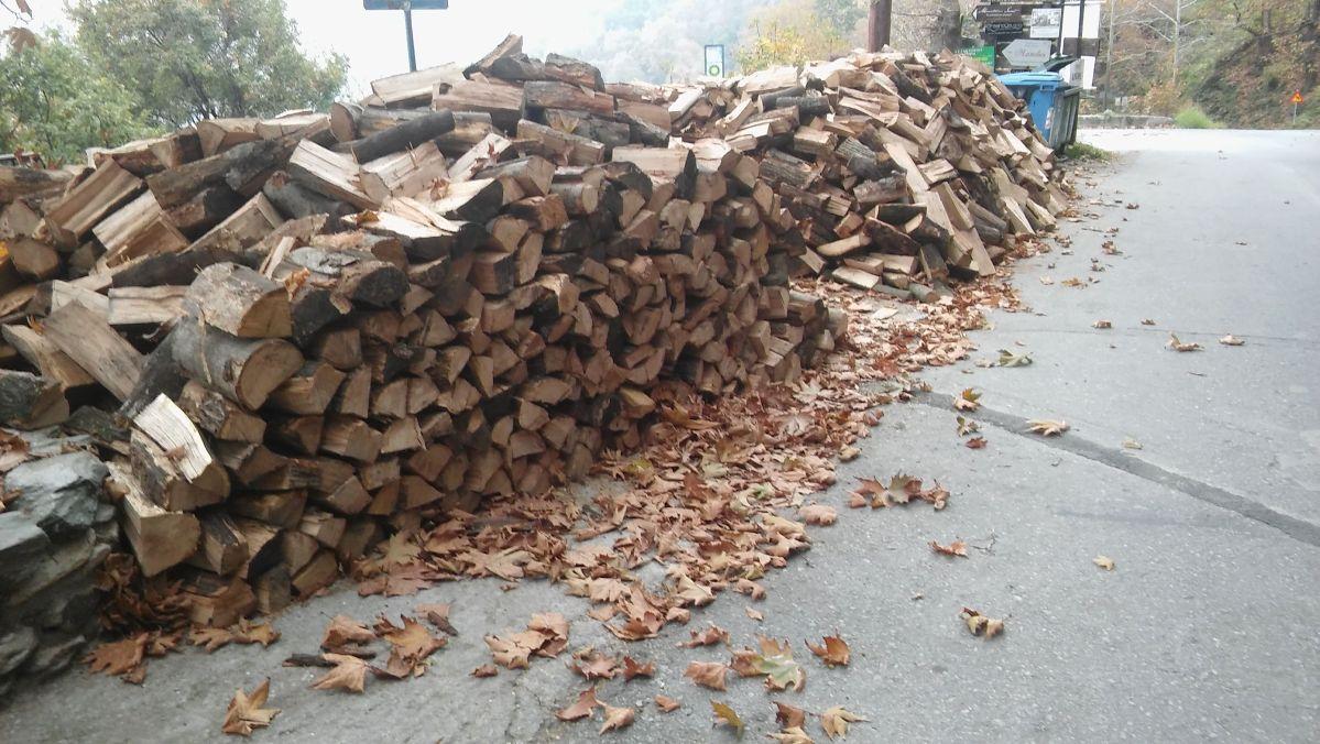 Αυξημένη ζήτηση για καυσόξυλα στο Ανατολικό Πήλιο ενόψει της χειμερινής περιόδου