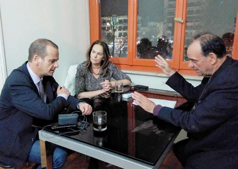 Συνάντηση με Κ. Παπανάτσιου και Αθ. Βούρδα για την αποκατάσταση ζημιών στον Δήμο Ζαγοράς-Μουρεσίου
