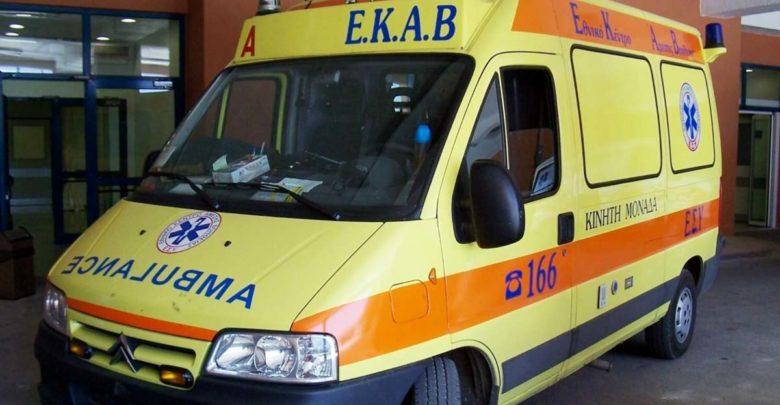 Τραυματίστηκε 25χρονος δικυκλιστής μετά από σύγκρουση με Ι.Χ. αυτοκίνητο στην Αγριά