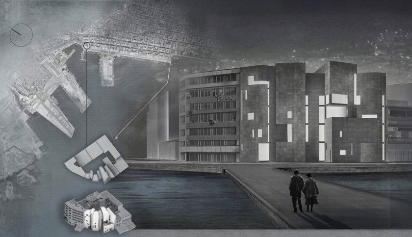Κτίριο-έμβλημα για την ιστορία της Μαγνησίας σχεδίασαν στην παραλία φοιτητές του Τμήματος Αρχιτεκτόνων Μηχανικών