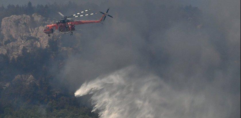 Σάπες Ροδόπης: Υποψίες εμπρησμού, ολονύχτια μάχη με τις φλόγες