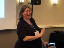 Christie Bates, LPC, led the seminars for the 2018 Caduceus Retreat.