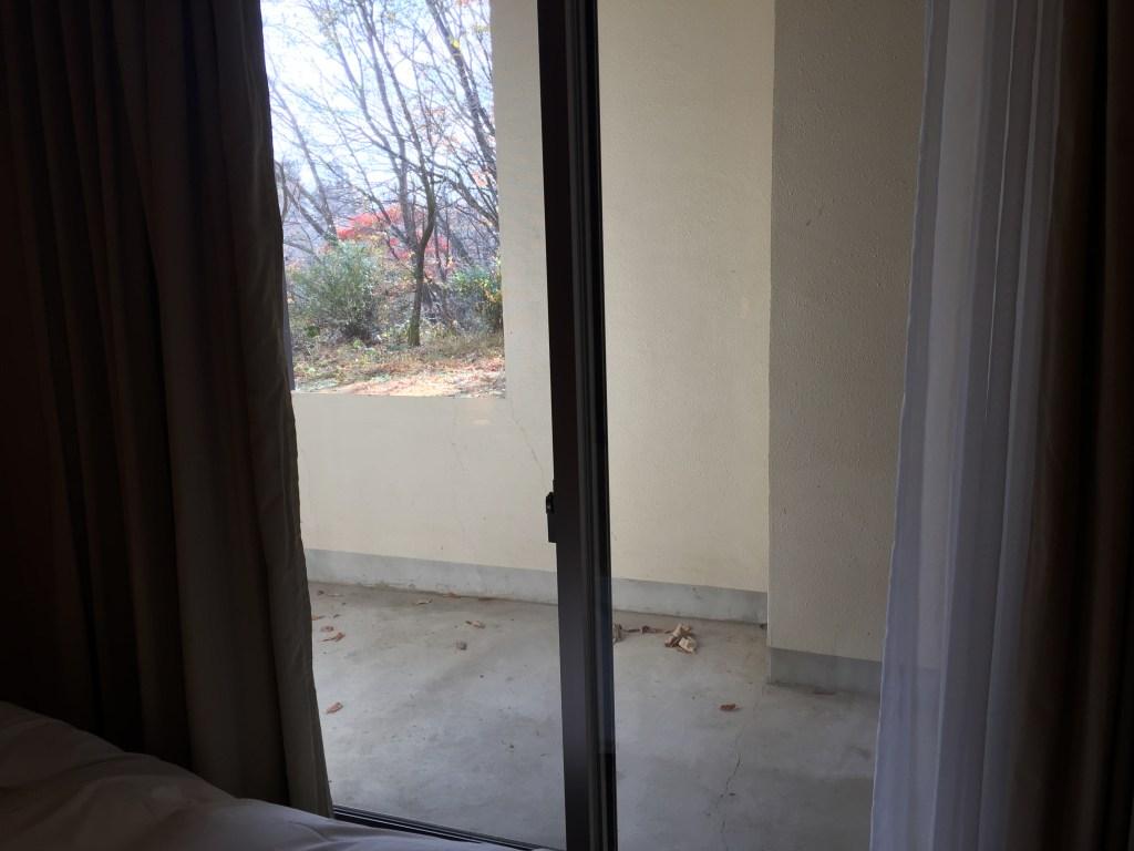 フロラシオン那須 一階の窓