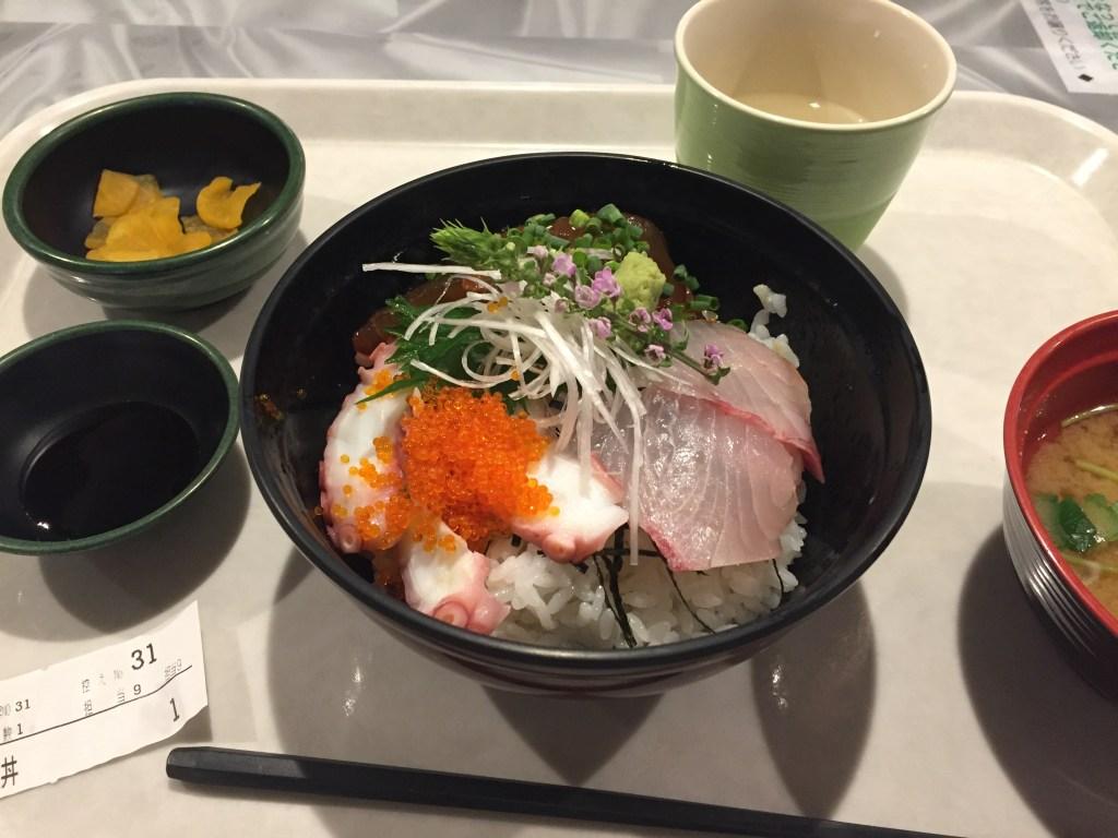 おがさわら丸海鮮丼