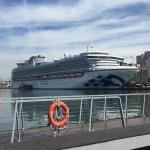 桃園国際空港から基隆港までのアクセス、ダイヤモンドプリンセスに乗船するのだ!