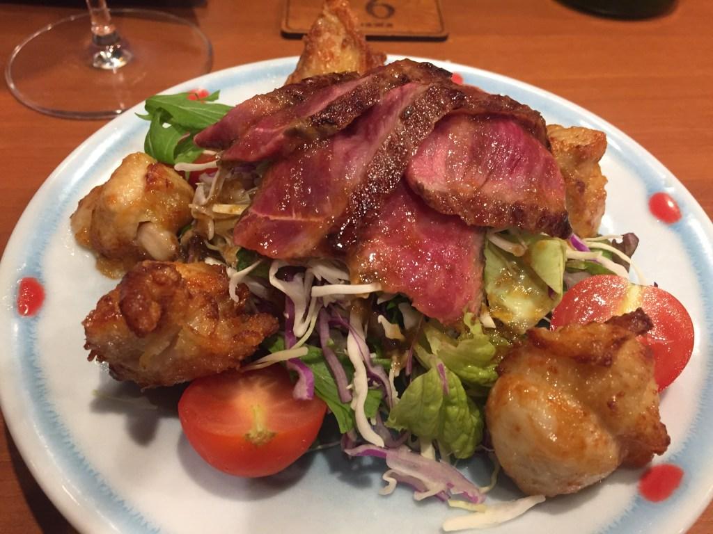 おいしい牡蠣の店「和久バル」の肉