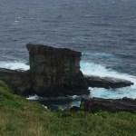 与那国島観光スポット*軍艦岩・立神岩
