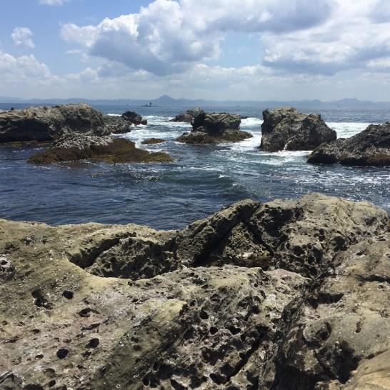 間口港の海岸