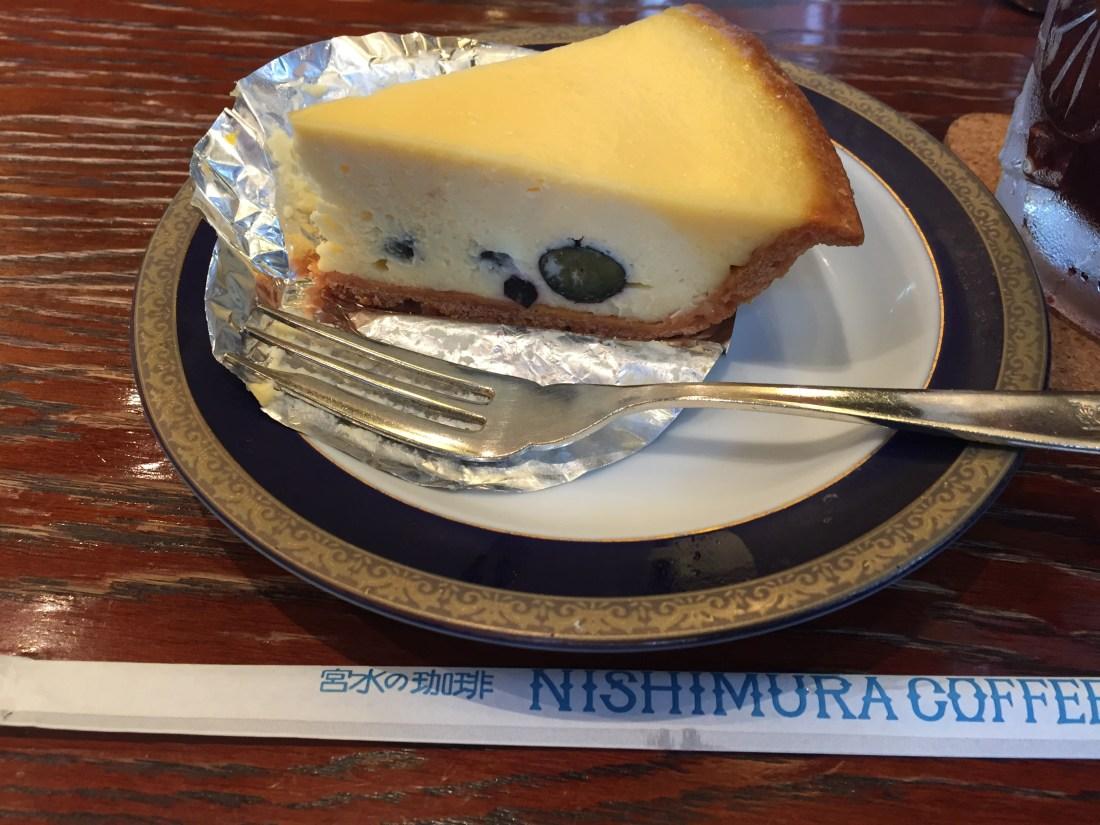 にしむら珈琲店ケーキ
