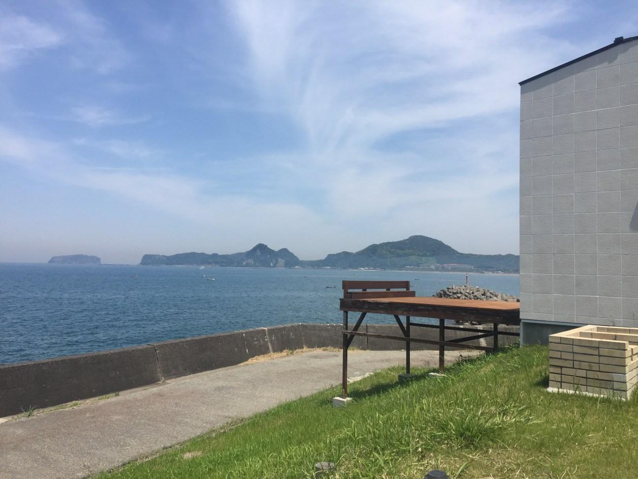 岩井海岸そば