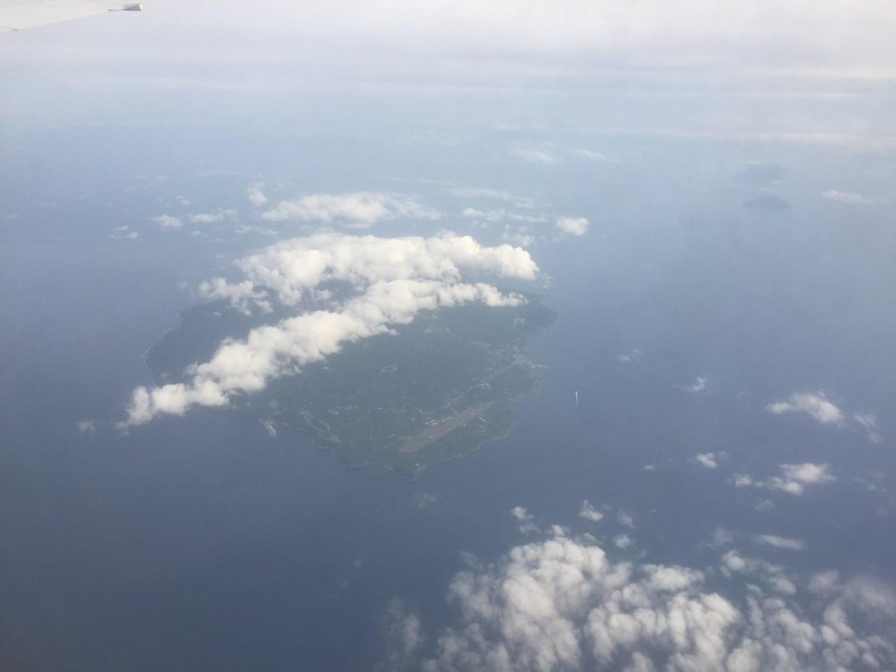 スカイマークエアラインより伊豆大島