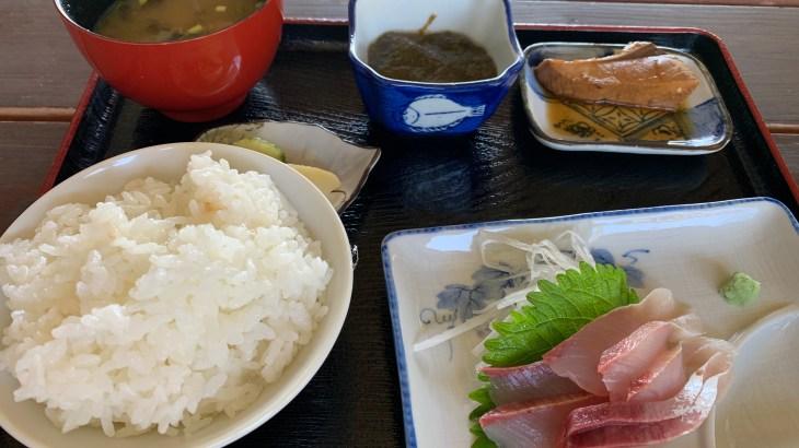 隠岐:西ノ島でランチ!お外でいただく隠岐の幸「にしわき鮮魚店」