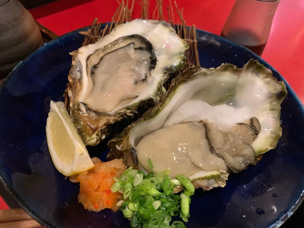 千歳生牡蠣