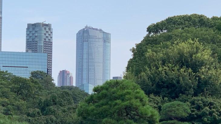 東京シティービューからの眺め