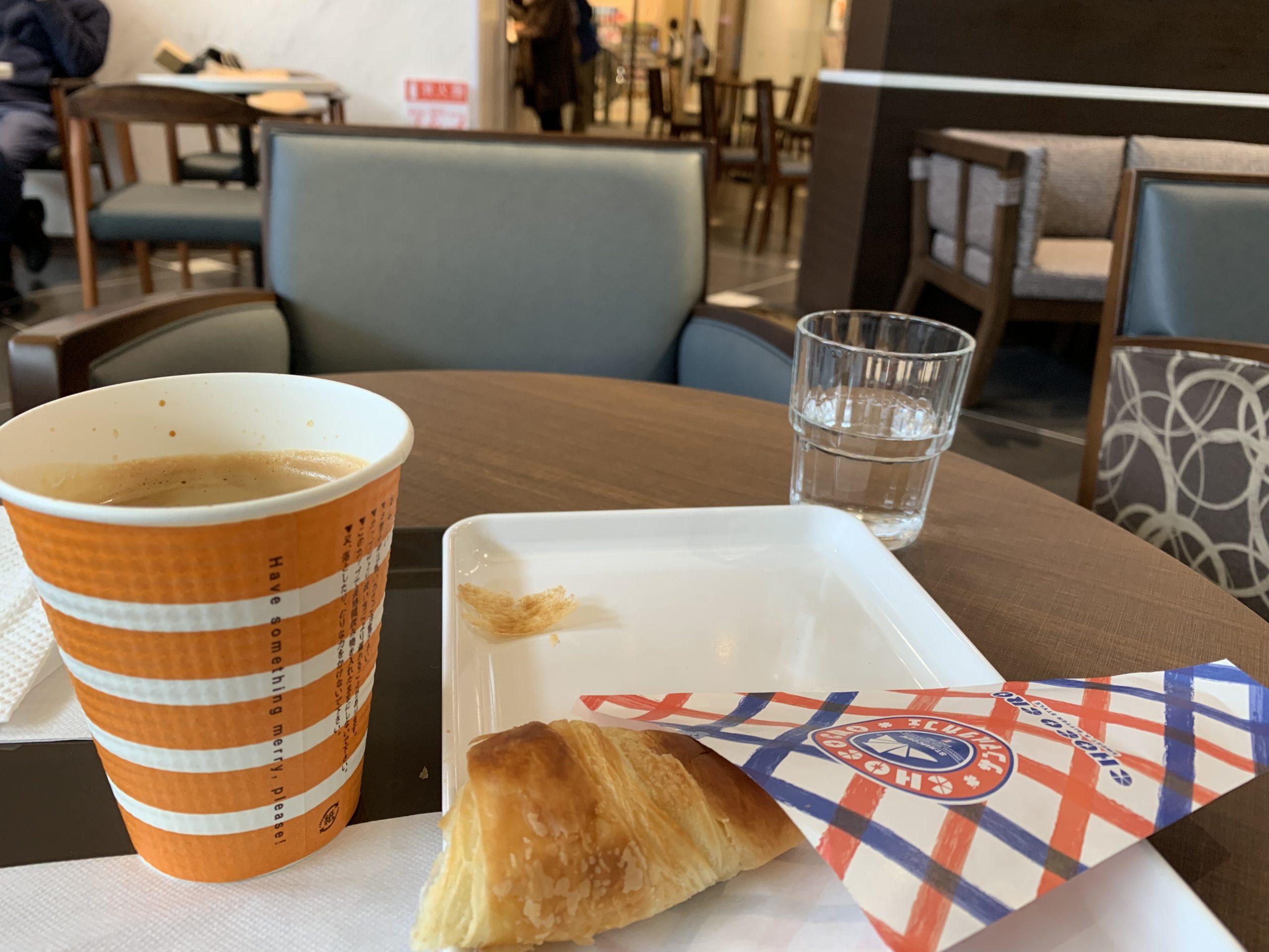 テラスモール松戸のサンマルクカフェ