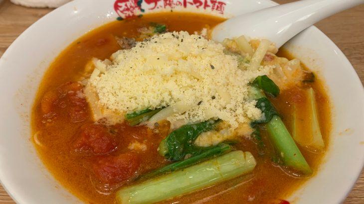 太陽のトマト麺を初めて食す