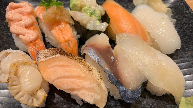 お寿司食べ放題の寿司〜レベル高いです