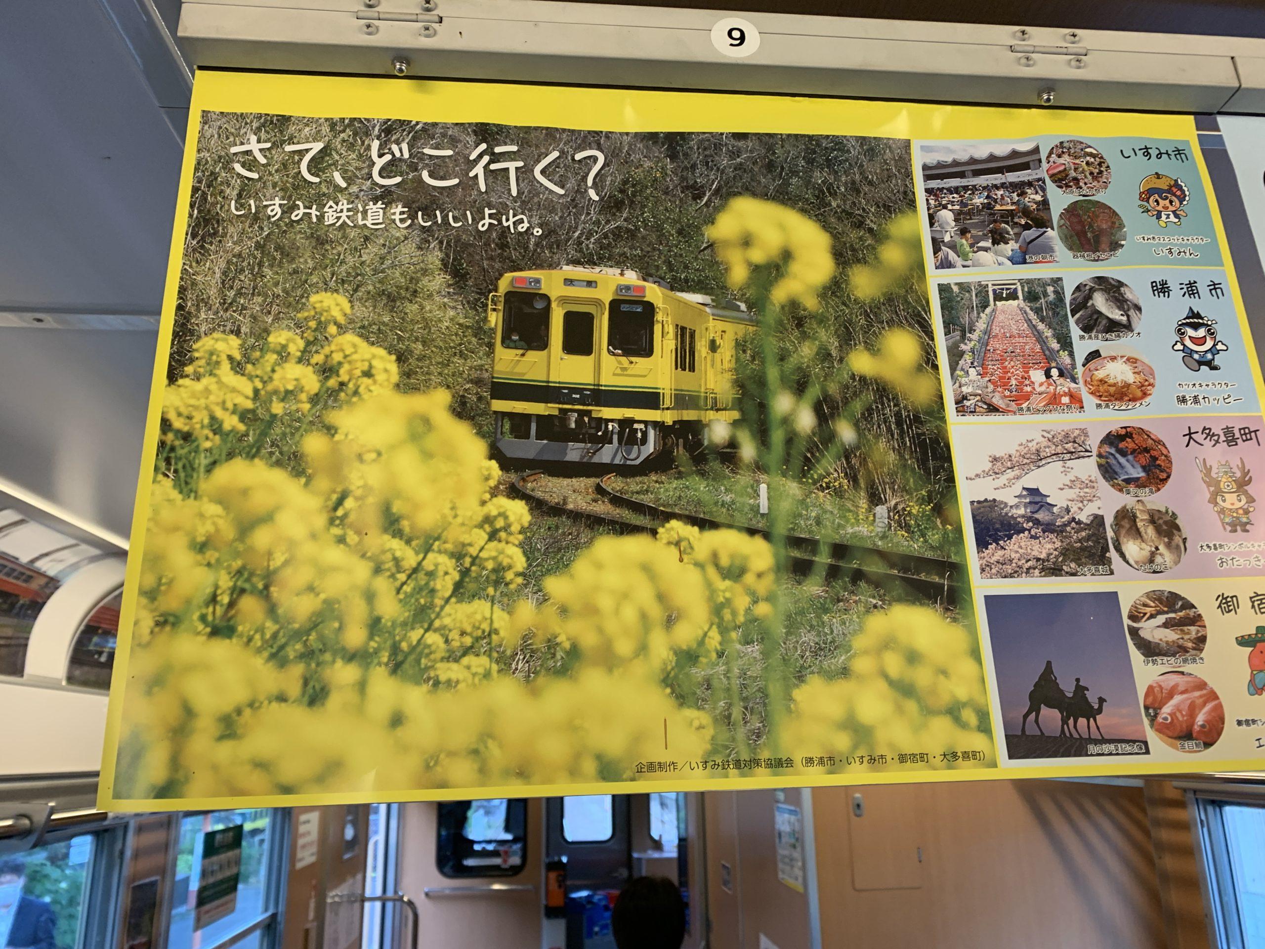 いすみ鉄道ポスター