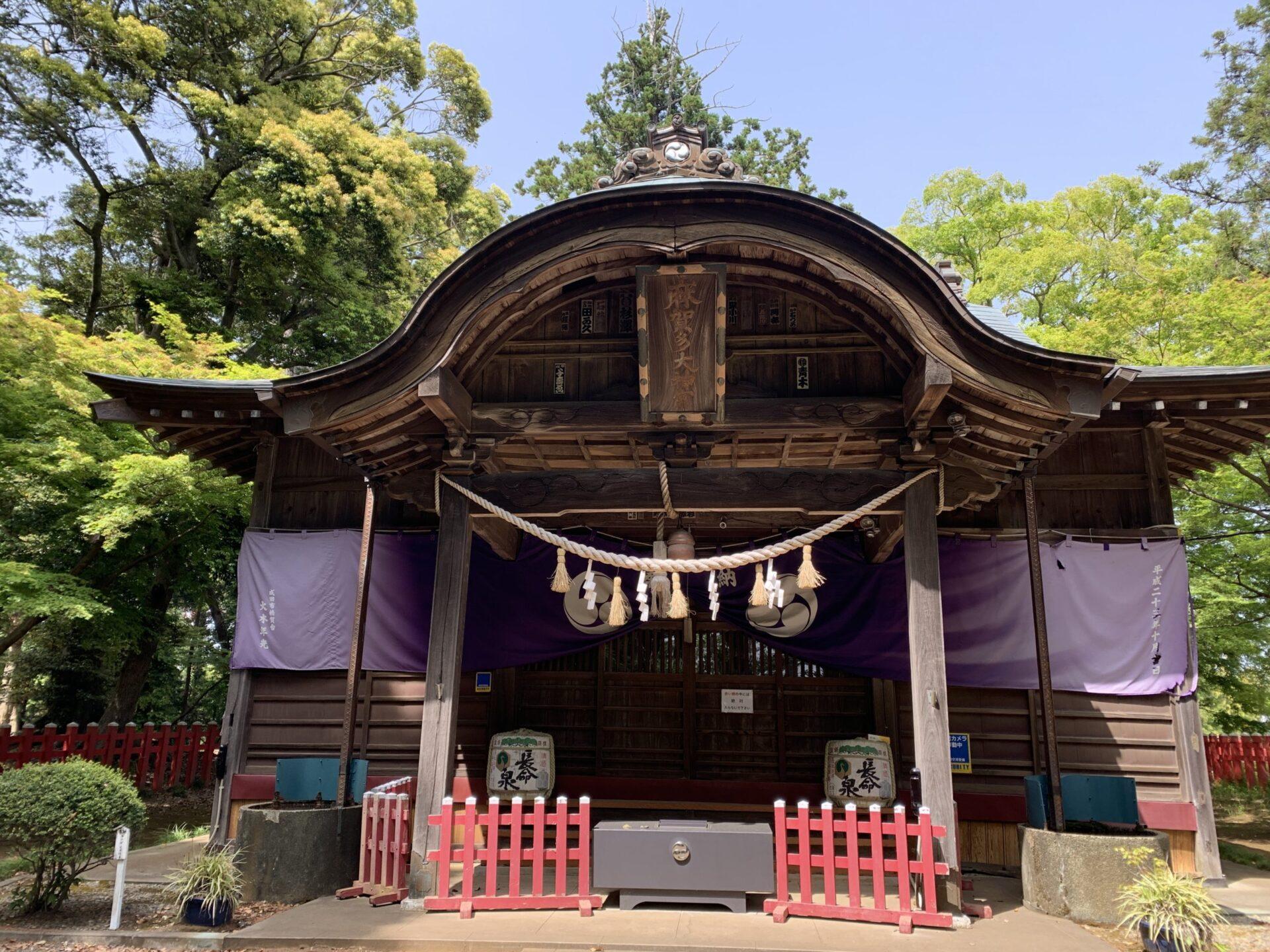船形麻賀多神社本殿