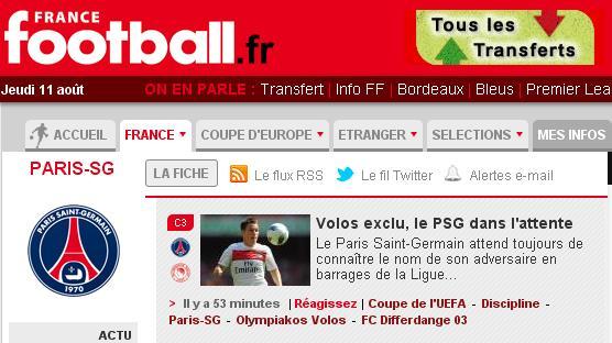 δημοσίευμα της France Football-3204
