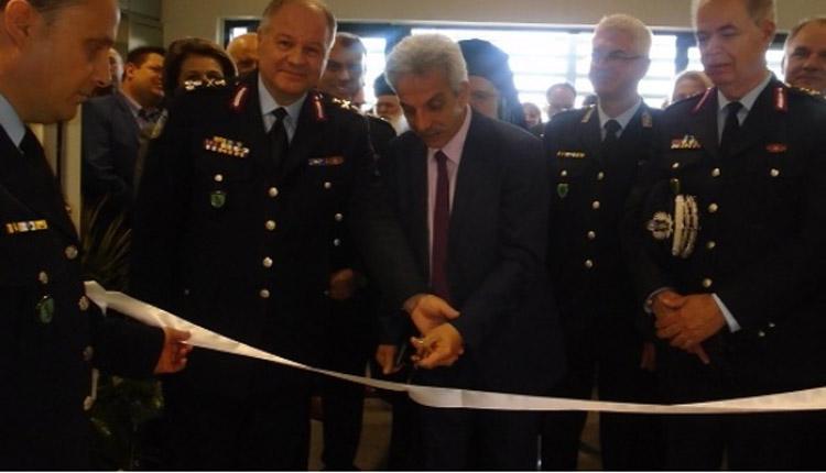 Γ.Γ. Δημόσιας Τάξης και Αρχηγός ΕΛΑΣ εγκαινίασαν το νέο Α.Τ. Ν. Πηλίου και την Έκθεση Αστυνομικών Κειμηλίων στο Βόλο