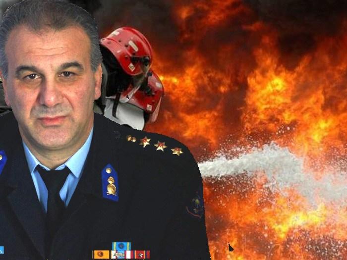 """Πύρινη νύχτα στη Σκόπελο - """"Μάχη"""" των πυροσβεστών με τις φλόγες και τον """"στρατηγό άνεμο"""""""