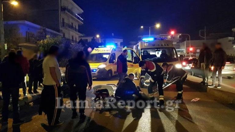 Υπάλληλος ντελίβερι τραυματίστηκε σε τροχαίο