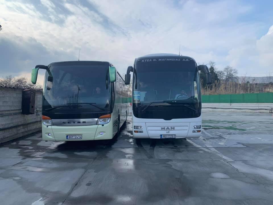 ΑΥΤΑ ΕΙΝΑΙ τα δύο νέα λεωφορεία του Υπεραστικού ΚΤΕΛ Μαγνησίας