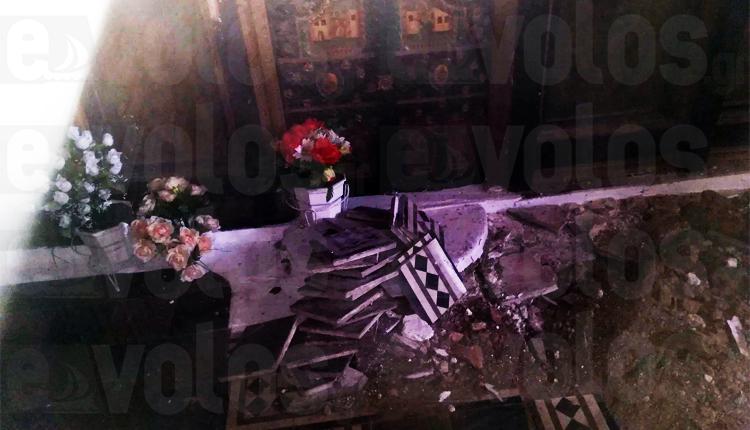 ΑΠΙΣΤΕΥΤΟ: Παραβίασαν Ιερό Ναό στο Αχίλλειον Μαγνησίας και έσκαψαν για λίρες δίπλα από το Ιερό