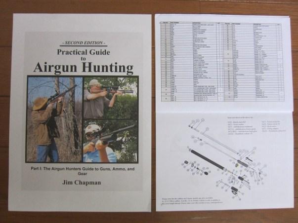 新人猟師が教える【海外サイトで空気銃猟情報の入手】 : プリチャージ空気銃の取説・部品リスト・機構図