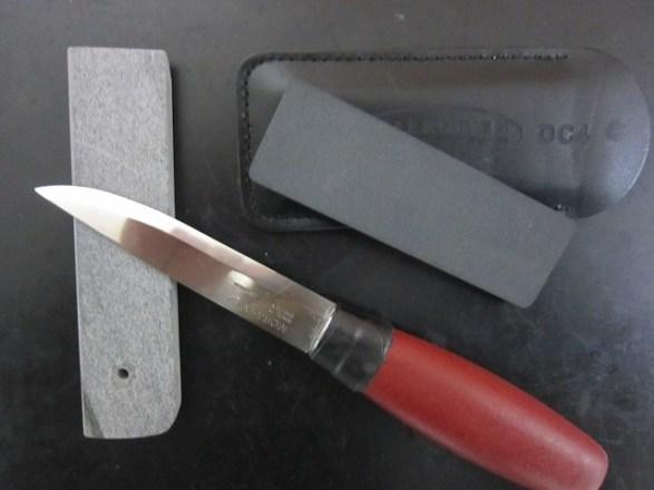 【ナイフ研ぎ】モーラ_ナイフ(スカンジ_グラインド)の『回転研ぎ』について