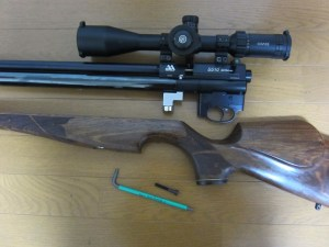 PCPエアーライフル備忘録:【エアアームズS510のOリング交換】:プリチャージ空気銃「S510」3年使用後の分解・メンテナンス
