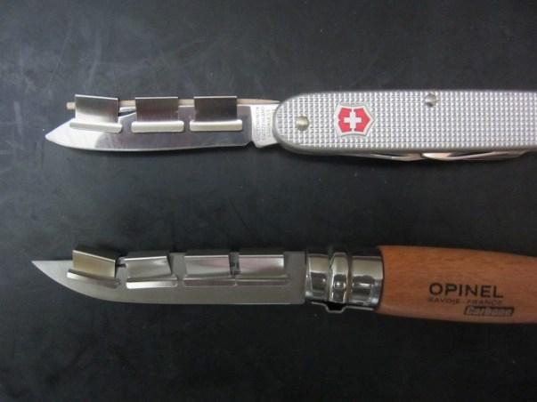 【ナイフ研ぎ】ビクトリノックスのスイスアーミーナイフやオピネルナイフを安価かつ簡易に研ぐ方法 : ナイフ初心者向け