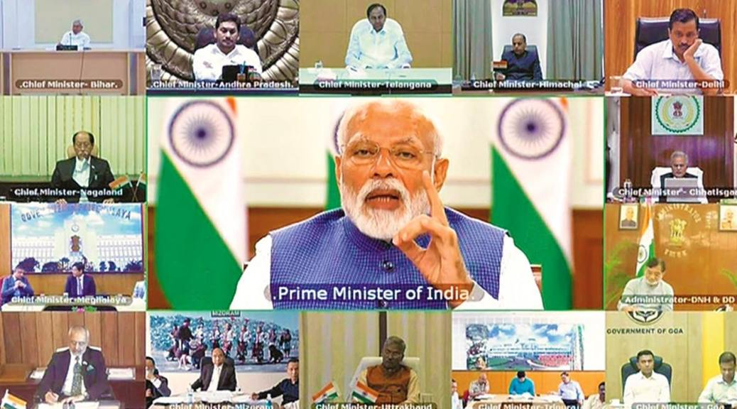 Covid-19: Pm Modi Convenes Meeting Again To Brainstorm With Chief Ministers On New Strategy